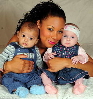 Разноцветные близнецы