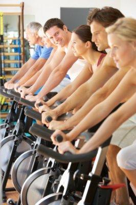 велосипед жир на животе