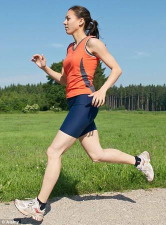Легкий бег трусцой полезней быстрой