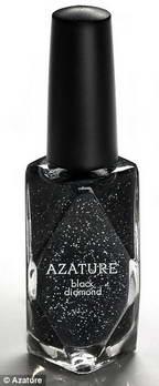 Лак для ногтей - 237 карат черных бриллиантов