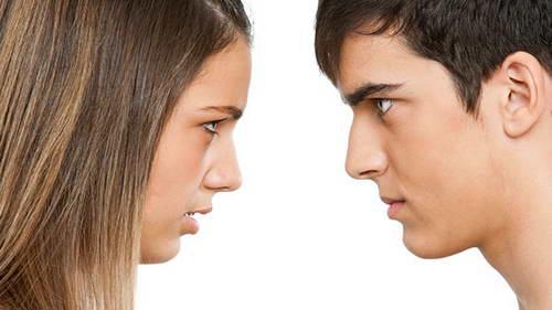 Женщина по лицу видит изменника