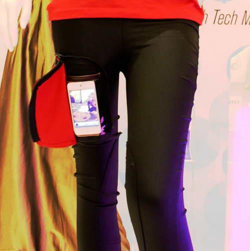 Джеггинсы с карманами длч смартфонов