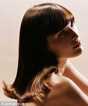 Секрет блестящих волос