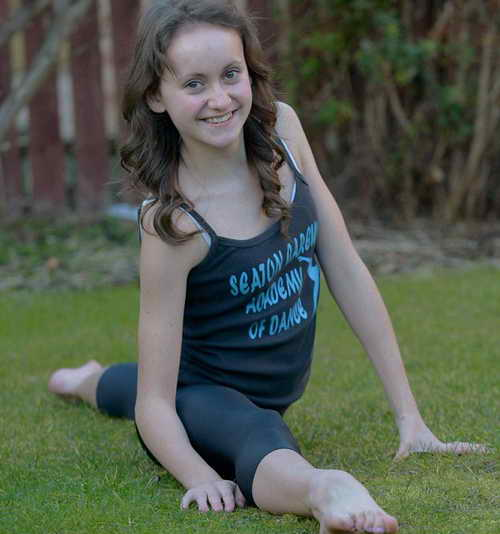 Эмили Кросби - 13 лет после операции по сколиозу