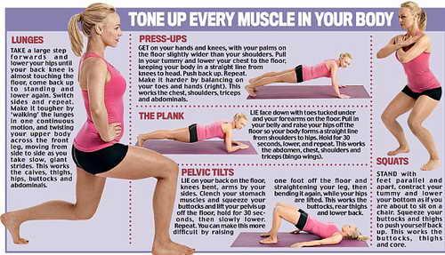 Комплекс упражнений для физической нормы
