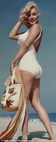 Мэрилин Монро - лучшая фигура всех времен