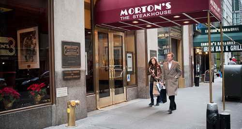 Morton Steak house - место для адюльтера