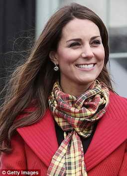 Кейт Миддлтон -2-ая в топе лучших улыбок