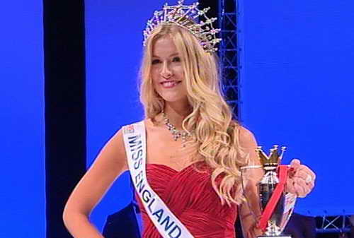 Мисс Англия 2013 года Кристи Хеслевуд